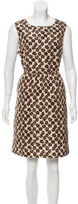 RED Valentino Leopard Print A-Line Dress w/ Tags