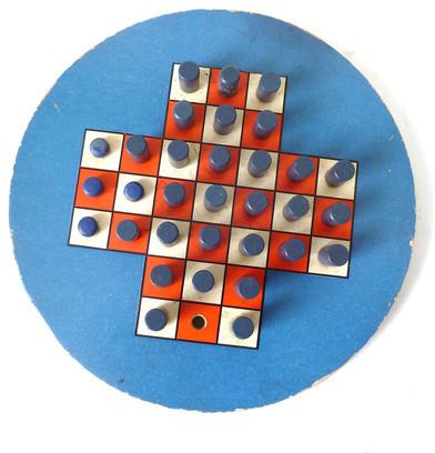 cushionchicago 20s Children's Peg Puzzle