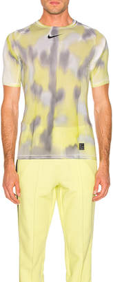 Alyx Nike Sponge Camo & Transfer Tee in Neon Camo   FWRD