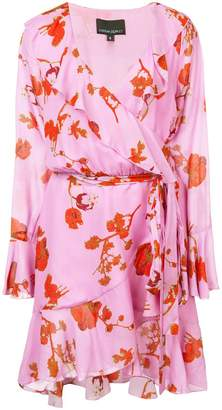 Cynthia Rowley Malibu poppy print wrap dress