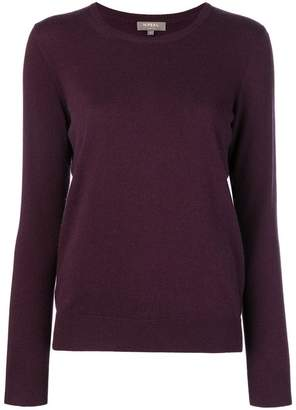 N.Peal round neck knitted sweater