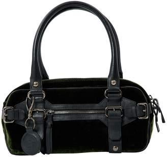 Giorgio Armani Green Velvet Handbag