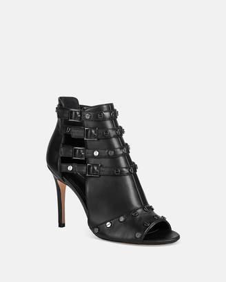 Nicole Miller Jocelin Leather Stiletto