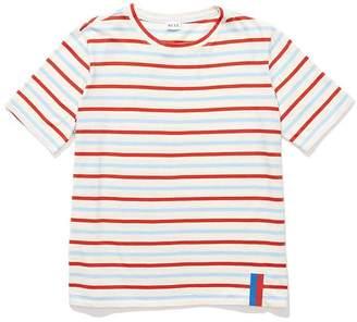 Kule The Modern Short Sleeve Stripe Shirt