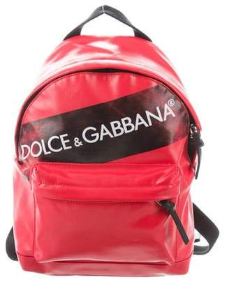Dolce & Gabbana Vulcano Canvas Backpack