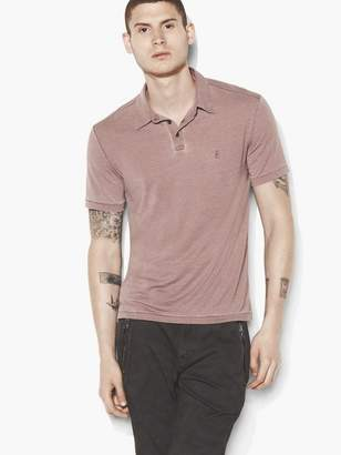 John Varvatos Peace Sign Polo Shirt
