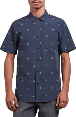 Volcom Frequency Dot Short Sleeve Woven Shirt
