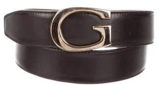 Gucci Leather Logo Belt