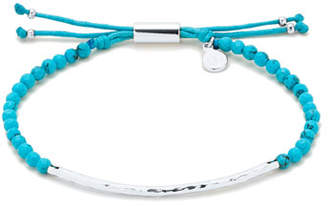 Gorjana Power Gemstone Turquoise Bracelet for Healing, Silver