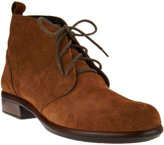 Naot Footwear Leather or Suede Lace-up Ankle Boots - Levanto