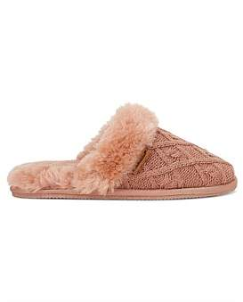 Hush Puppies Cable Slipper