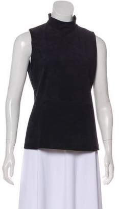 Theory Suede Sleeveless Top