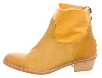 Zadig & Voltaire Suede Ankle Boots w/ Tags