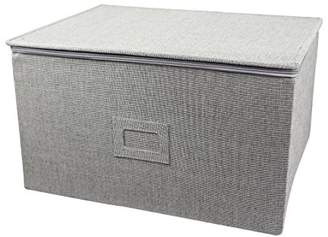 In This Space Twill Hard-Shell Foldable Storage Chest for Stemware