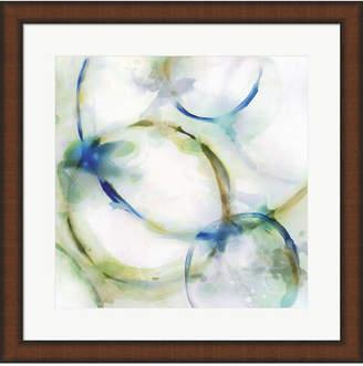 Rings Iii By Edward Selkirk Framed Art