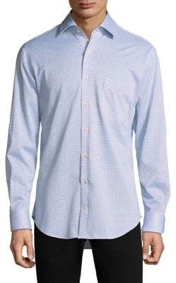 Peter Millar Ocean Cotton Button-Down Shirt