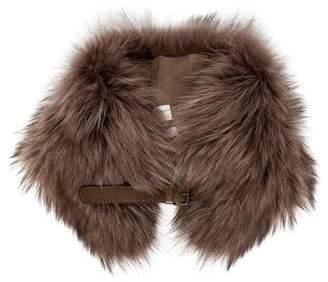 Brunello Cucinelli Fox Fur Collar