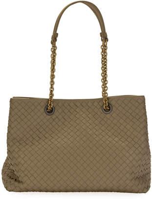 b1f672c9e4 Bottega Veneta Intrecciato Medium Double-Chain Tote Bag - ShopStyle
