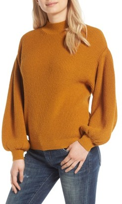 Women's Leith Blouson Sleeve Sweater $69 thestylecure.com