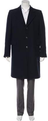 Dries Van Noten Wool Button-Up Coat