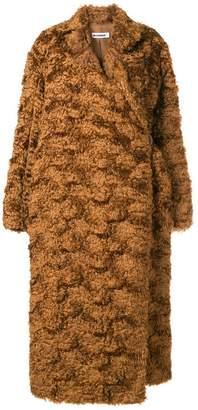 Jil Sander long-sleeved oversized coat