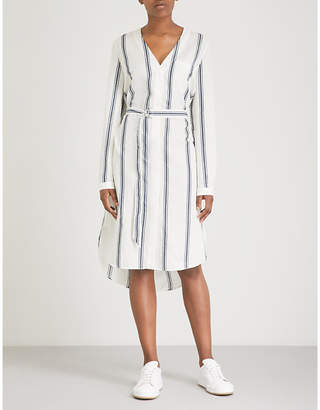 Rag & Bone Alyse cotton and linen-blend dress