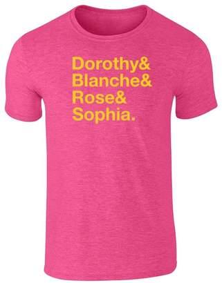 Pop Threads Dorothy & Blanche & Rose & Sophia. L Short Sleeve T-Shirt