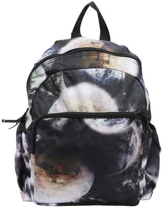 Molo Space Printed Nylon Canvas Backpack