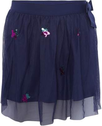 Benetton Girls Star Tulle Skirt