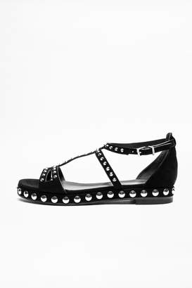 Zadig & Voltaire Fame Spikes Sandals