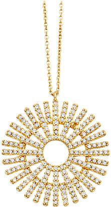 Astley Clarke Rising Sun large 18ct gold diamond pendant