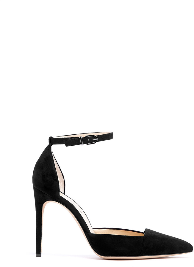 Alexandre Birman High Court Shoes With Ankle Strap