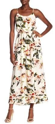 Dex Floral Print Maxi Dress