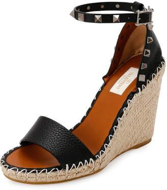 3dbc573a81f Valentino Espadrille Wedge Women s Sandals - ShopStyle