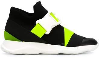 Christopher Kane mid-top buckle sneakers