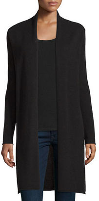 Neiman Marcus Cashmere Collection Long Cashmere Duster Cardigan $325 thestylecure.com