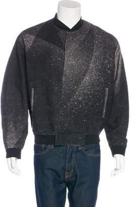 Balenciaga 2015 Embroidered Bomber Jacket