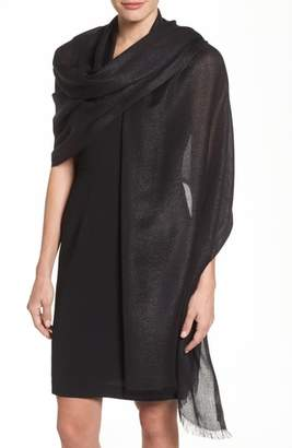 Nordstrom Metallic Lightweight Wrap