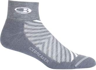 Icebreaker Run+ Mini Light Cushion Sock - Men's