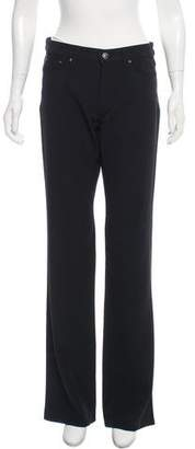 Versace Mid-Rise Wide-Leg Pants w/ Tags