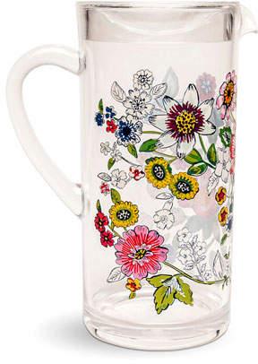 Vera Bradley Coral Floral Acrylic Pitcher