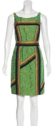 Prada Jacquard Mini Dress