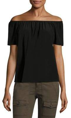 Equipment Amesti B Silk Off-The-Shoulder Blouse