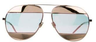 Christian Dior Split 1 Metal Sunglasses