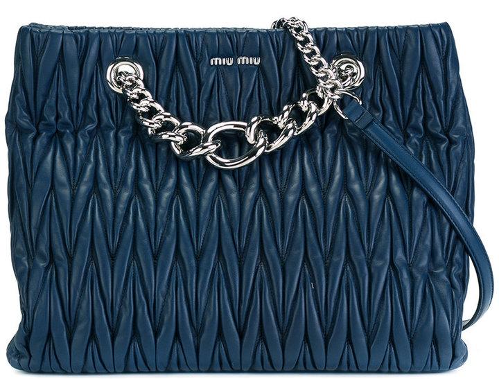 Miu MiuMiu Miu chain strap shoulder bag