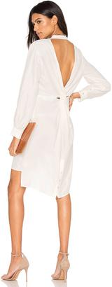 Line & Dot Musee Twist Shirt Dress $136 thestylecure.com
