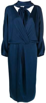 Diane von Furstenberg deep V-neck dress