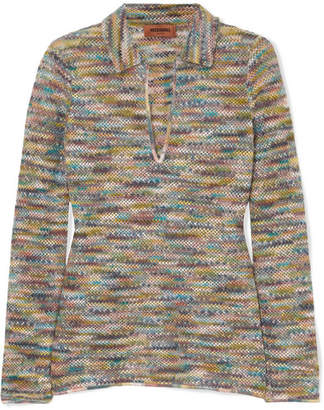 Missoni Crochet-knit Top - Green