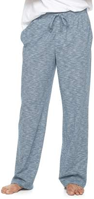 Croft & Barrow Men's True Comfort Slubbed Knit Lounge Pants
