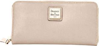 Dooney & Bourke Saffiano Large Zip Around Wallet